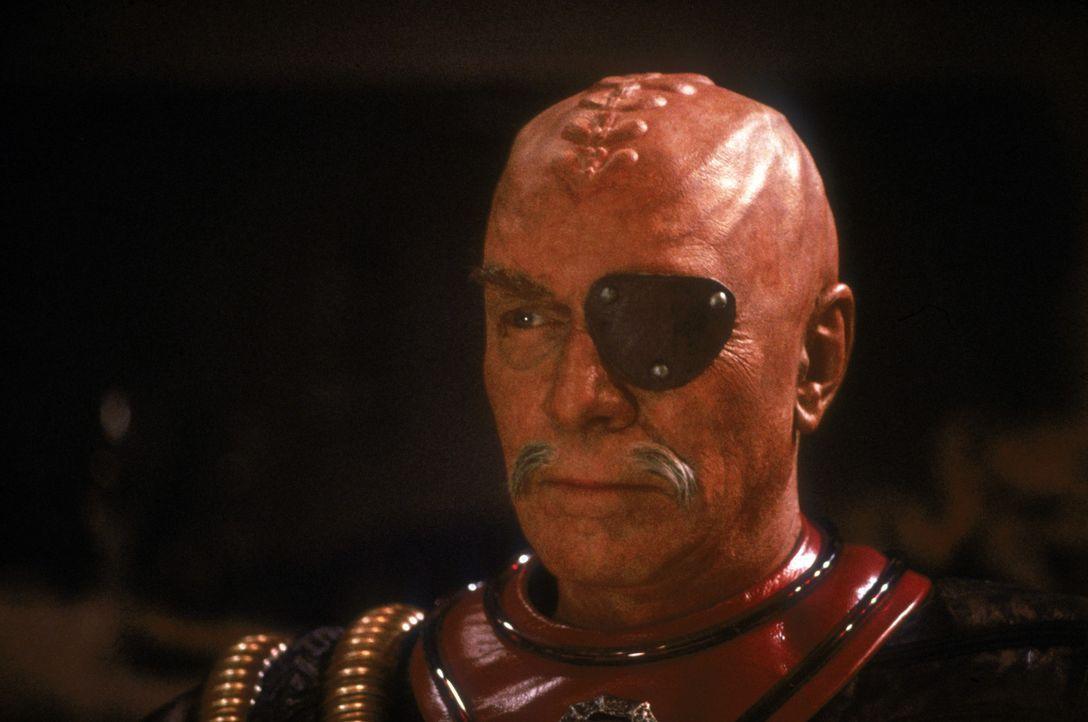 Der ruchlose Klingonen Gen. Chang (Christopher Plummer) setzt alles daran, die Bemühungen des historischen Friedensgipfels zu zerstören … - Bildquelle: Paramount Pictures