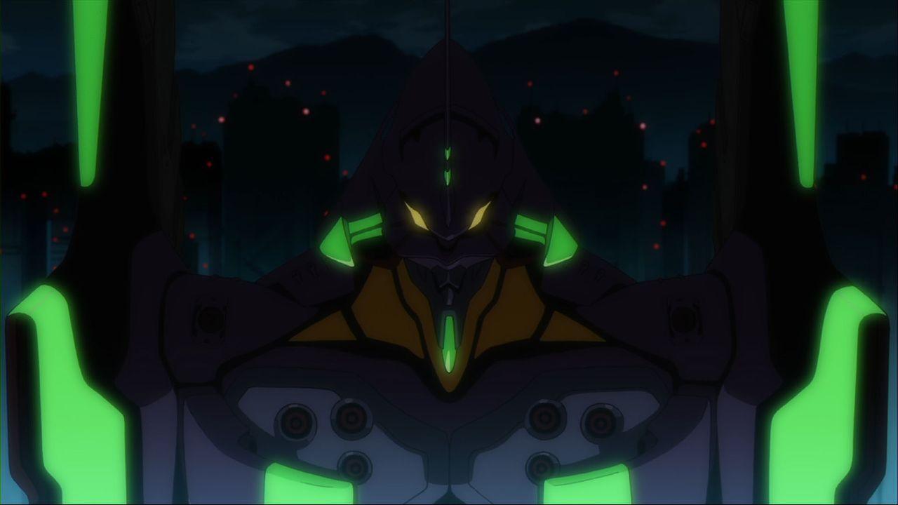 Wird Shinji sich seinem Schicksal stellen und den Kampf um das Überleben der Menschheit gegen die Engel antreten? - Bildquelle: khara, GAINAX. All rights reserved