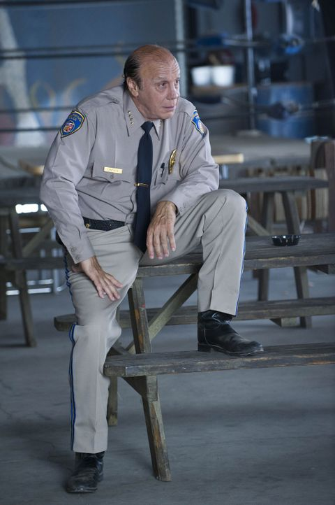 Das größte Anliegen von Polizeichef Wayne Unser (Dayton Callie ) ist es, Charming von Verbrechen wie Prostitution, Drogenhandel und Gewalt fernzuh... - Bildquelle: 2009 Twentieth Century Fox Film Corporation and Bluebush Productions, LLC. All rights reserved.