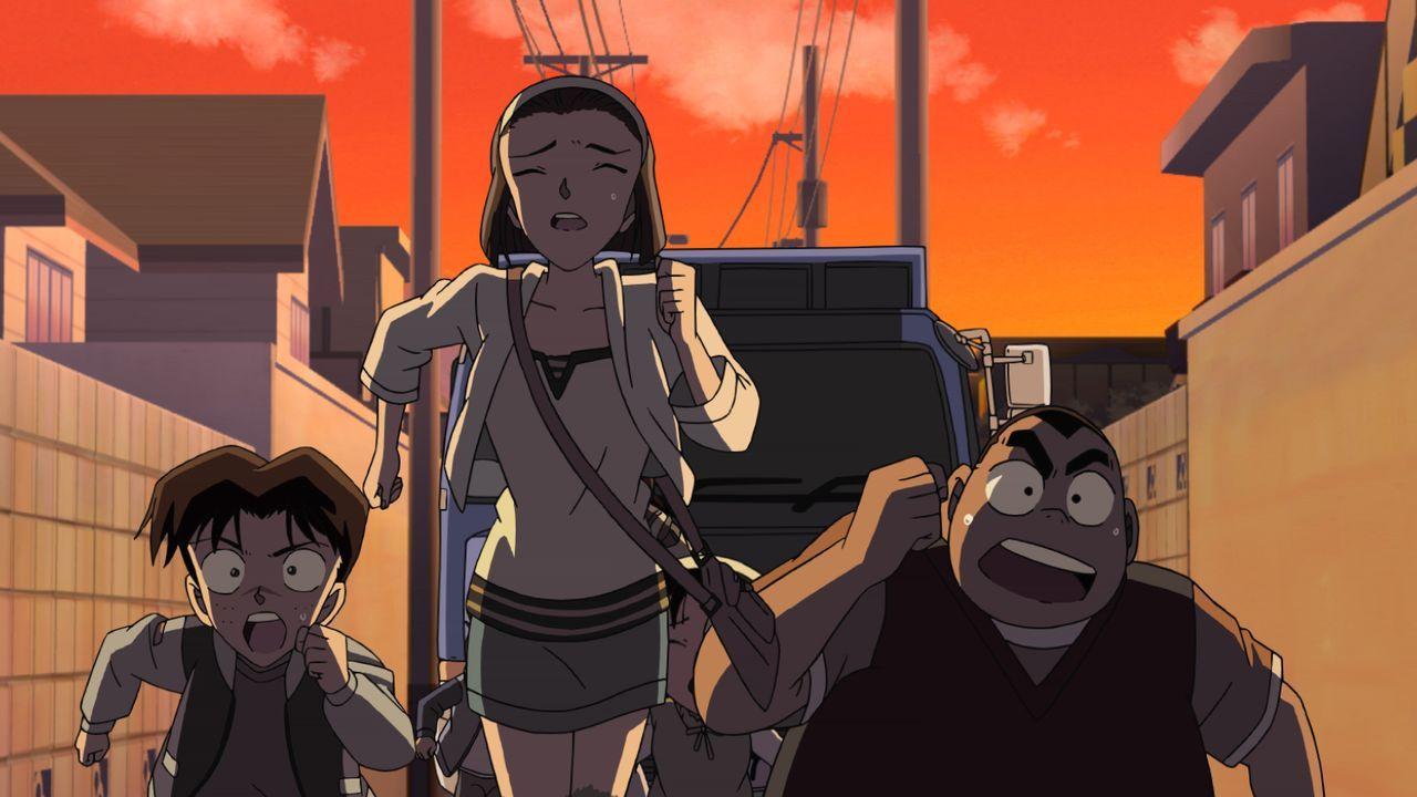 Conan und die anderen Grundschüler freuen sich sehr, dass die berühmte Sopranistin Reiko Akiba mit ihnen für den Teitan-Grundschulen-Chorwettbewerb... - Bildquelle: 2008 GOSHO AOYAMA/DETECTIVE CONAN COMMITTEE All Rights Reserved.