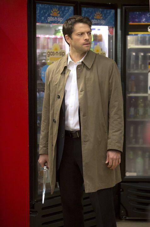 Castiel (Misha Collins) wird schmerzlich bewusst, dass er Metatron nicht mehr ignorieren kann ... - Bildquelle: 2013 Warner Brothers