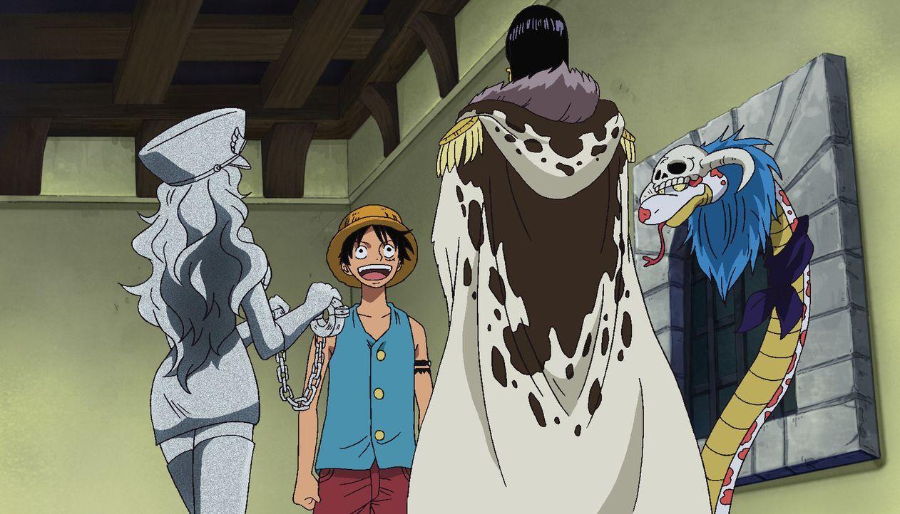 Wiedersehen in der Hölle! Der Mann, der von der Trenn-Trenn-Frucht aß. - Bildquelle: Eiichiro Oda/Shueisha, Toei Animation