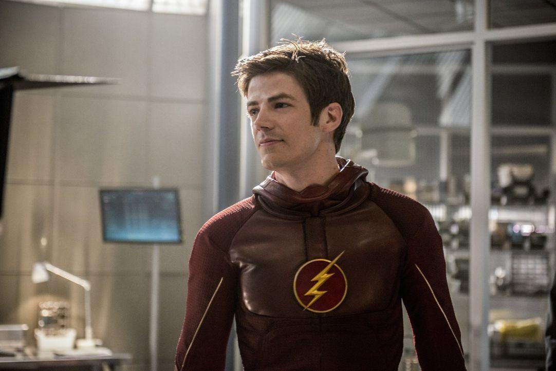 Während die Stadt für Barry alias The Flash (Grant Gustin) eine Feier organisiert, hat dieser immer noch mit seinen Schuldgefühlen zu kämpfen ... - Bildquelle: 2015 Warner Brothers.