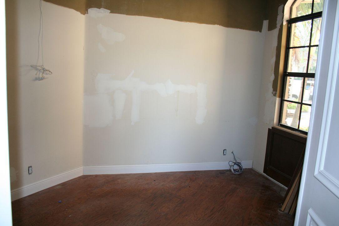 Im Büro muss Vanilla Ice auf seine Instinkte vertrauen - und verwandelt den kleinen Raum in ein Zimmer mit Wow-Effekt ... - Bildquelle: 2010, DIY Network/Scripps Networks, LLC.  All Rights Reserved