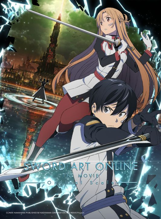 Sword Art Online - Ordinal Scale - Artwork - Bildquelle: 2016 REKI KAWAHARA/PUBLISHED BY KADOKAWA CORPORATION ASCII MEDIA WORKS/SAO MOVIE Project.
