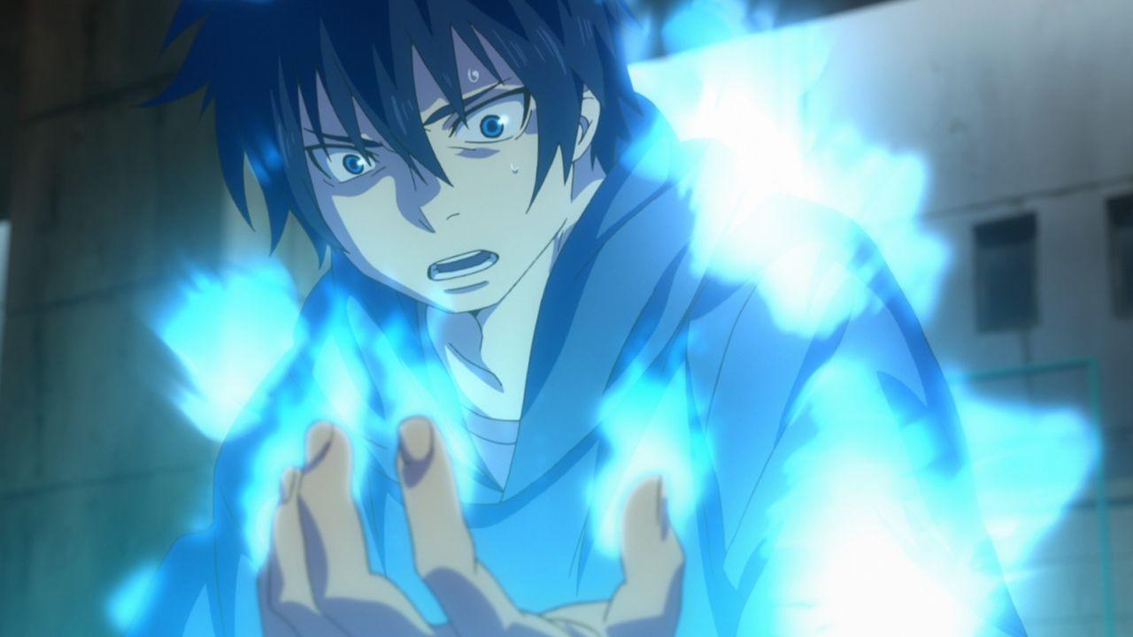 15 Jahre lang wussten die Brüder Rin (Bild) und Yukio nicht, wer in Wirklichkeit ihr Vater ist. Bis eines Tages Rins dämonische Kräfte zutage treten... - Bildquelle: Blue Exorcist   Kazue Kato/SHUEISHA, Blue Exorcist Committee, MBS
