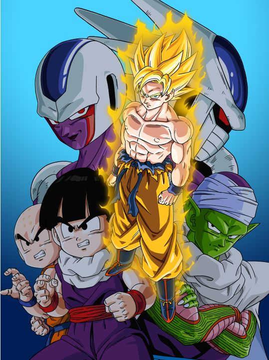 Dragonball Z: Rache für Freezer - Artwork - Bildquelle: 1991 TOEI ANIMATION CO., LTD.