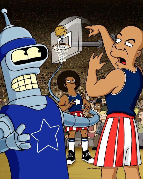 Bender (l.) gibt sein Bestes ... - Bildquelle: und TM Twenthieth Century Fox Film Corporation - Alle Rechte vorbehalten
