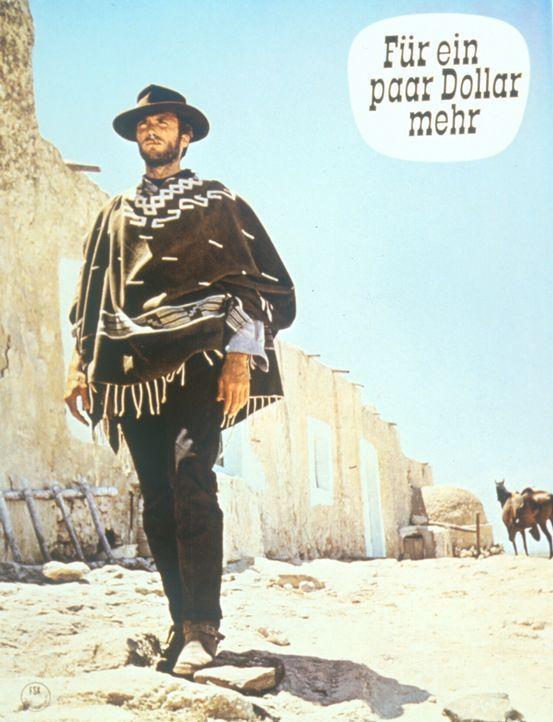 Der Kopfgeldjäger Monco (Clint Eastwood) versucht den gefürchteten Banditen Indio zu überlisten. - Bildquelle: United Artists