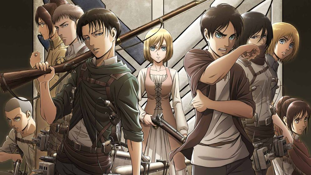 "- Bildquelle: Hajime Isayama,Kodansha/""ATTACK ON TITAN"" Production Comittee All Rights Reserved."