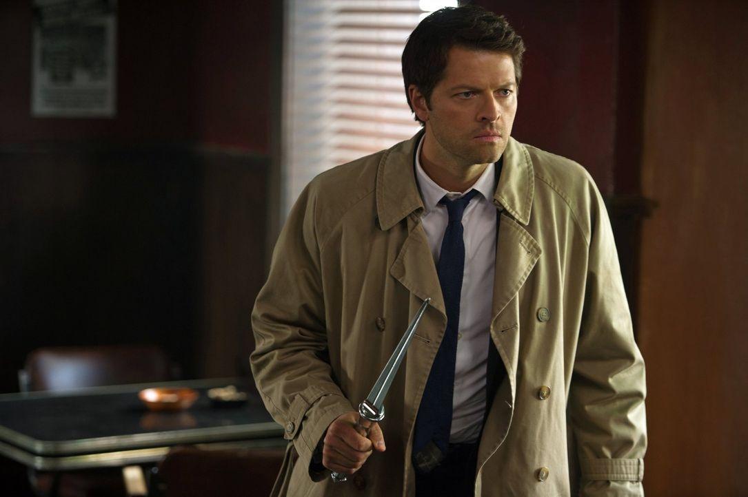 Erkennt Cas (Misha Collins) zu spät, was mit den Engeln im Himmel wirklich passieren wird? - Bildquelle: Warner Bros. Television