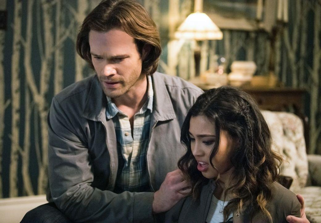 Sam (Jared Padalecki, l.); Alicia Banes (Kara Royster, r.) - Bildquelle: Dean Buscher 2016 The CW Network, LLC. All Rights Reserved / Dean Buscher