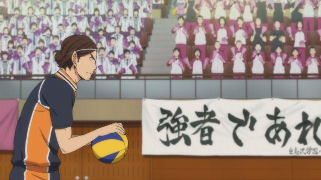 "Asahi Azumane - Bildquelle: H.Furudate / Shueisha,""Haikyu!!"" Project, MBS Instinct"
