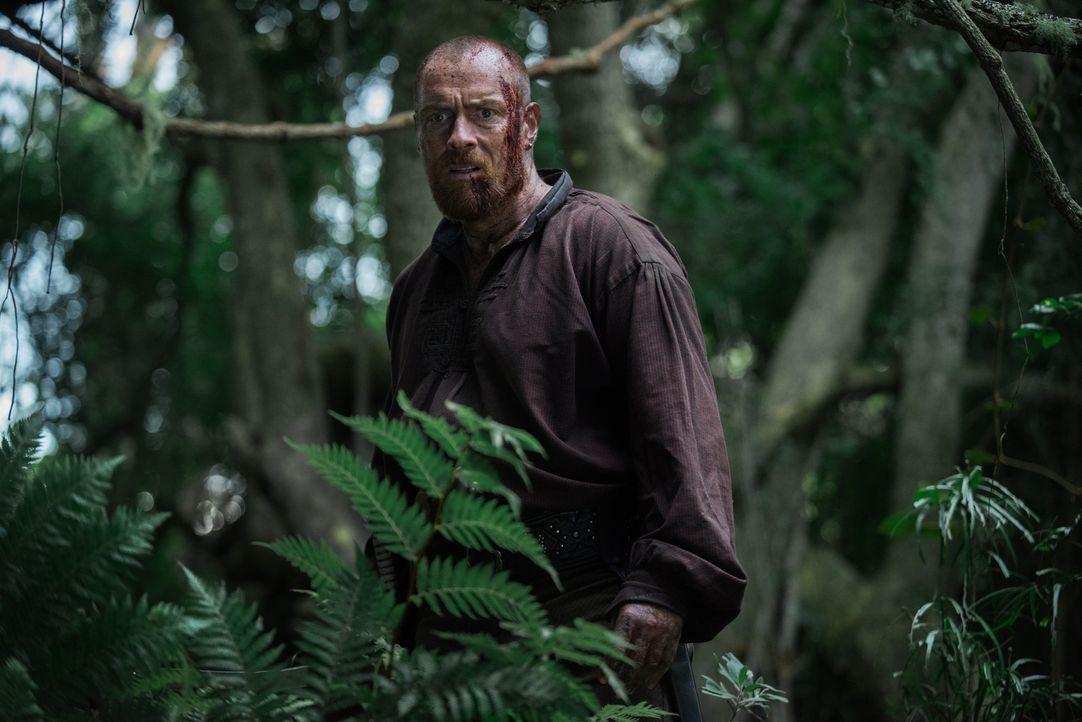 Sein Leben steht auf dem Spiel - denn John Silver und seine Männer sind ihm auf den Fersen: Captain Flint (Toby Stephens) ... - Bildquelle: David Bloomer 2017 Starz Entertainment, LLC