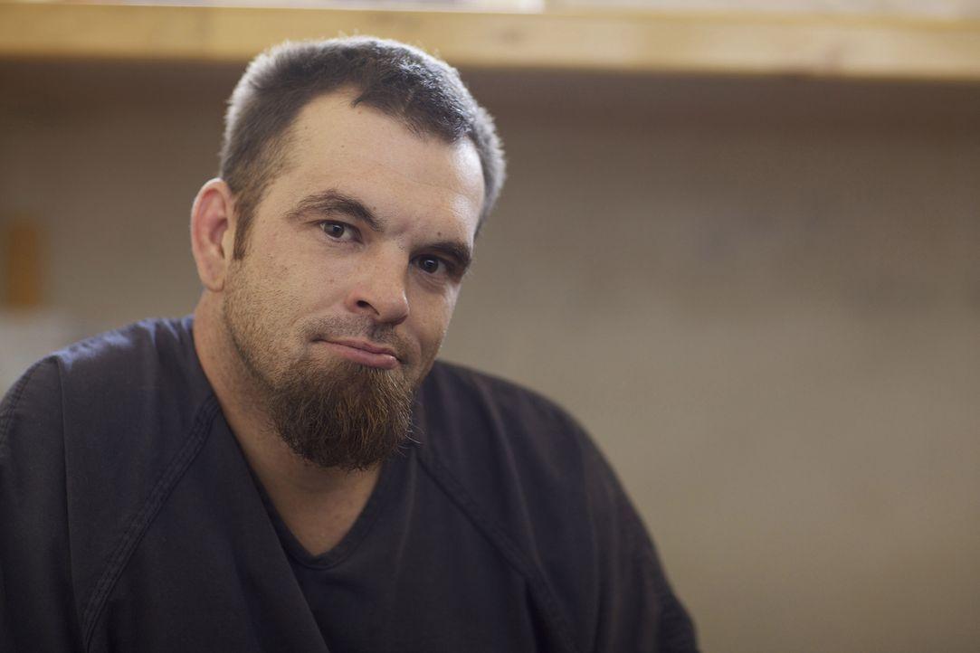 Einen Großteil seiner Zeit verbringt Justin Tait in seiner Zelle, wartend auf seine Anhörung vor Gericht ... - Bildquelle: James Peterson National Geographic Channels