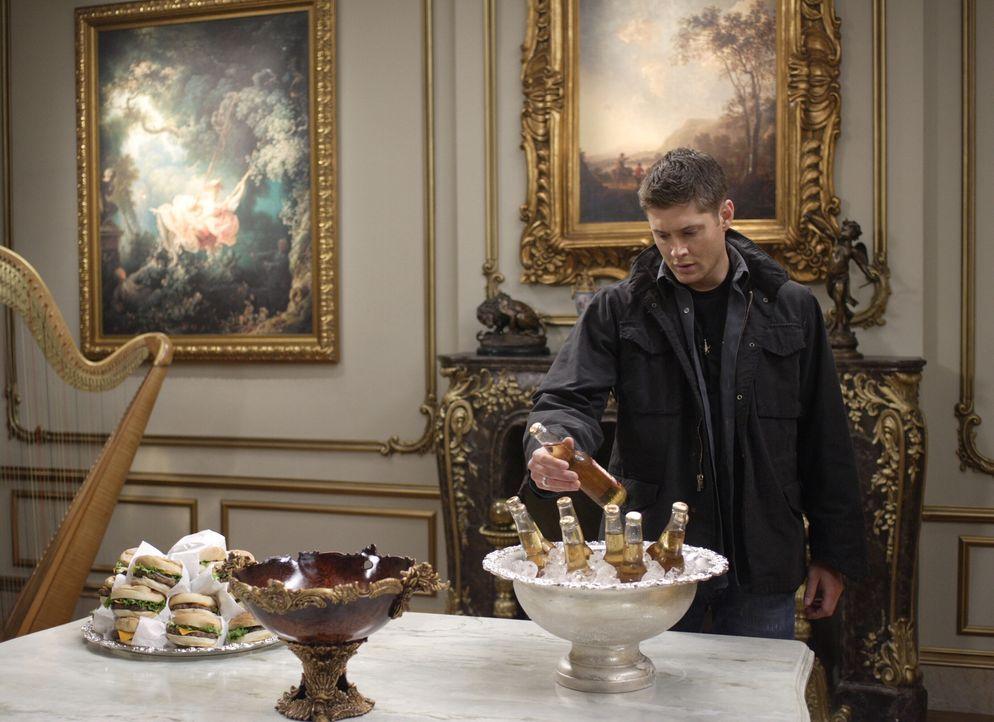 Die Apokalypse kommt, und Sam und Dean (Jensen Ackles) bereiten sich auf unterschiedliche Arten auf den Kampf vor ... - Bildquelle: Warner Bros. Television
