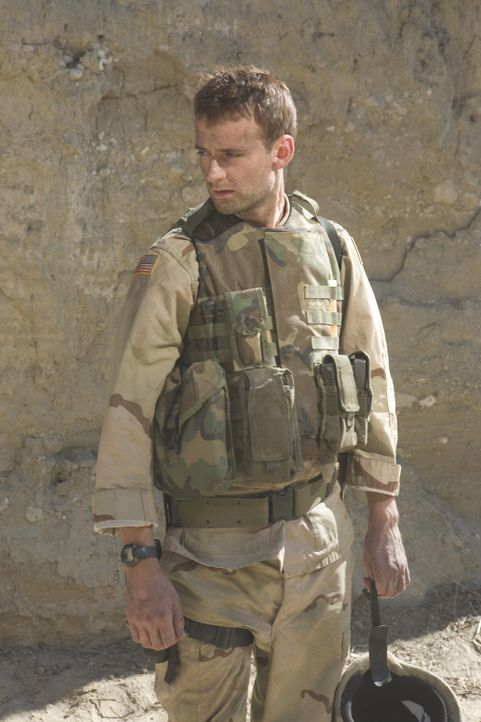 Afghanistan: GI Gregory Wilcox (Callum Blue) und seine sechs Kameraden sollen eine strategisch wichtige Strasse unter ihre Kontrolle bringen. Unglüc... - Bildquelle: 2008 Worldwide SPE Acquisitions Inc. All Rights Reserved.