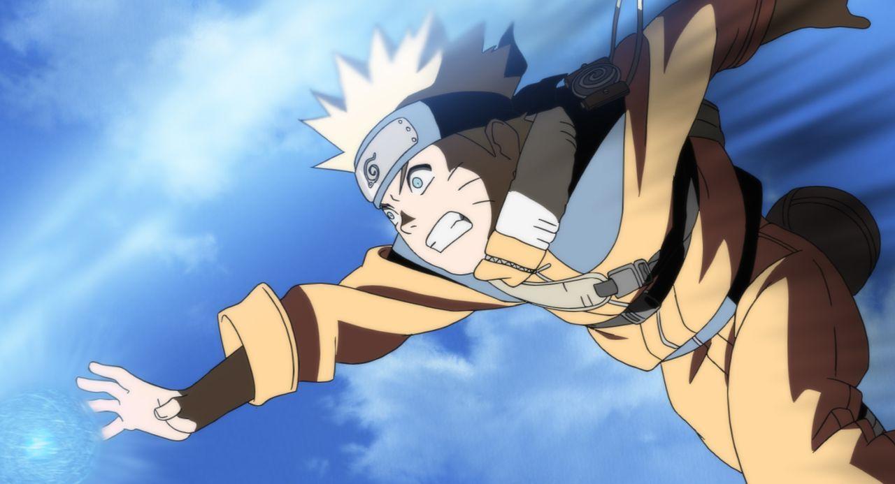 Eine einfachere Mission können sich Naruto (Bild), Shikamaru und Sakura kaum vorstellen: Sie müssen ein entlaufenes Frettchen wieder zurück zu seine... - Bildquelle: 2002 Masashi Kishimoto.   NMP 2005.