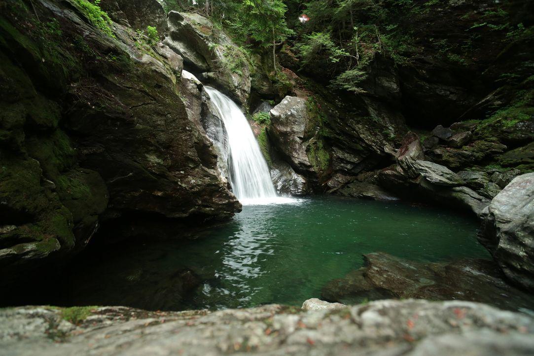 Ein wahres Naturparadies sind die Bingham Falls in Vermont, USA ... - Bildquelle: 2016, The Travel Channel, L.L.C. All Rights Reserved.