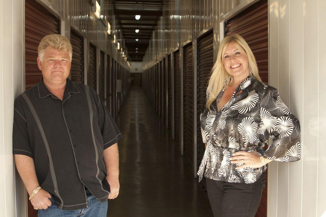 (v.l.n.r.) Dan Dotson; Laura Dotson - Bildquelle: A&E Television Networks, LLC. All Rights Reserved.