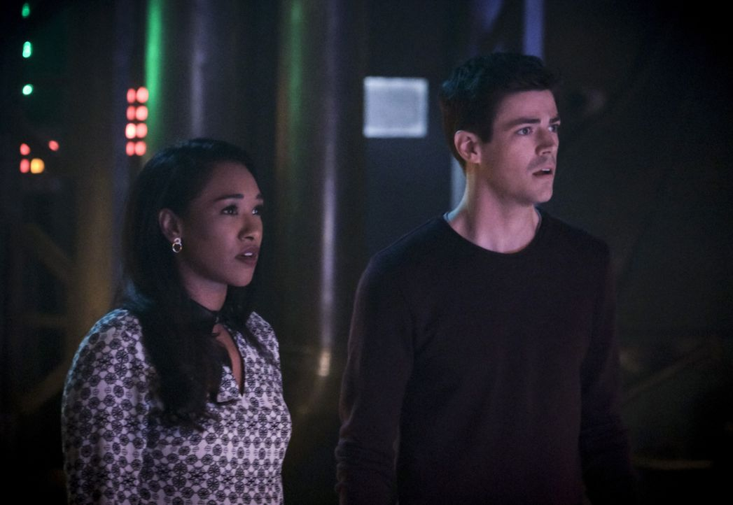 Iris (Candice Patton, l.); Barry (Grant Gustin, r.) - Bildquelle: Jeff Weddell 2018 The CW Network, LLC. All rights reserved. / Jeff Weddell