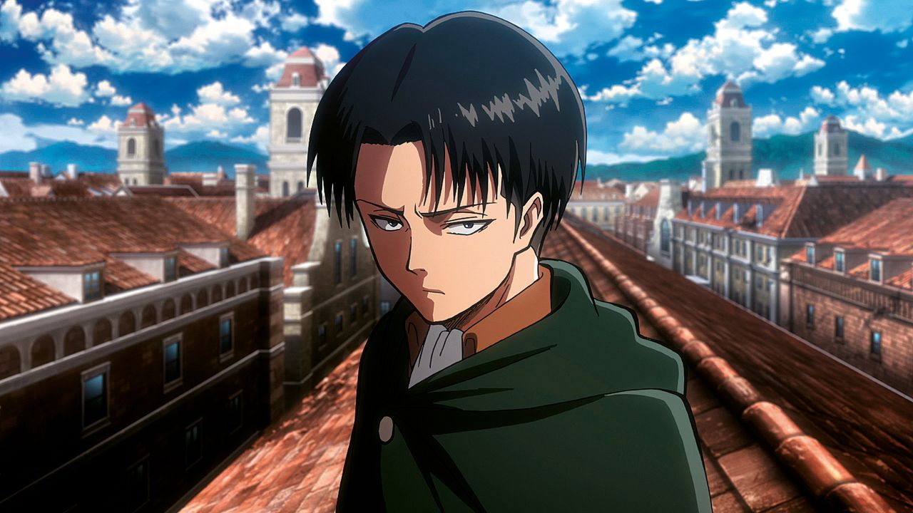 "Levi - Bildquelle: Hajime Isayama, Kodansha/""ATTACK ON TITAN"" Production Committee. All Rights Reserved."