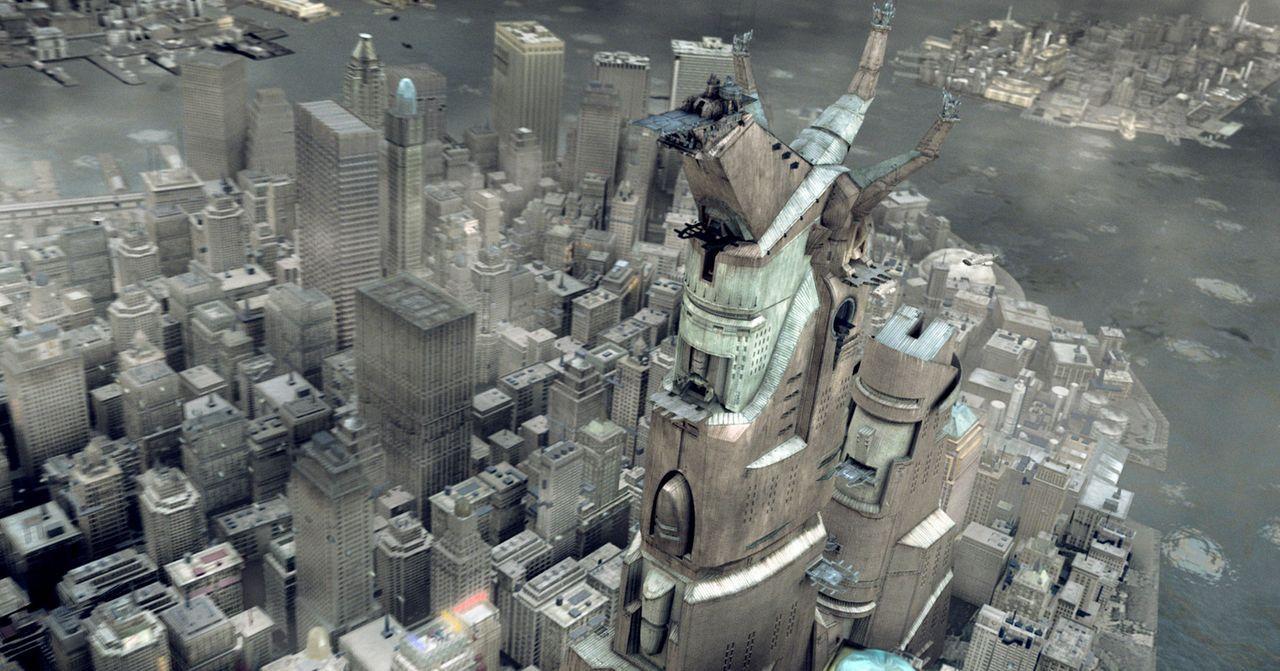 New York im Jahr 2095. Fernab vom Pantheon muss Gott Horus eine Mutantin, schwängern, um seine Unsterblichkeit nicht zu verlieren ... - Bildquelle: TF1 Films Productions