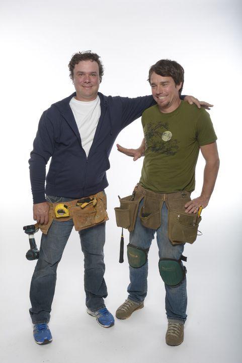 Brojects - zwei Brüder bauen um: Kevin (r.) und Andrew (l.) sind keine Profis und wissen oft nicht, was sie tun. Sie sind normale Jungs, denen es um...