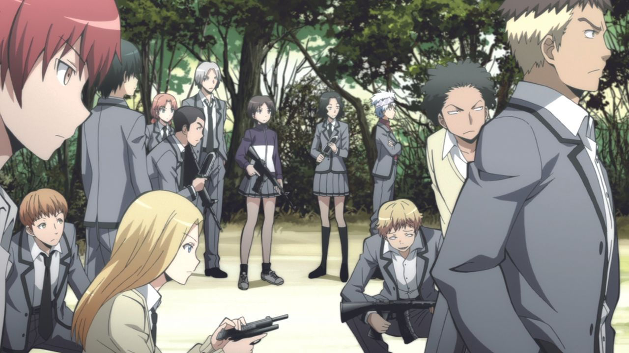 Assassination Classroom - Bildquelle: Yusei Matsui/SHUEISHA,ASSASSINATION CLASSROOM Committee