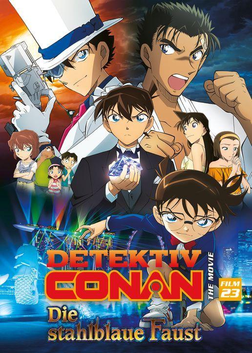Detective Conan Movie 23: The Fist of the Blue Sapphire - Artwork - Bildquelle: 2019 GOSHO AOYAMA/DETECTIVE CONAN COMMITTEE