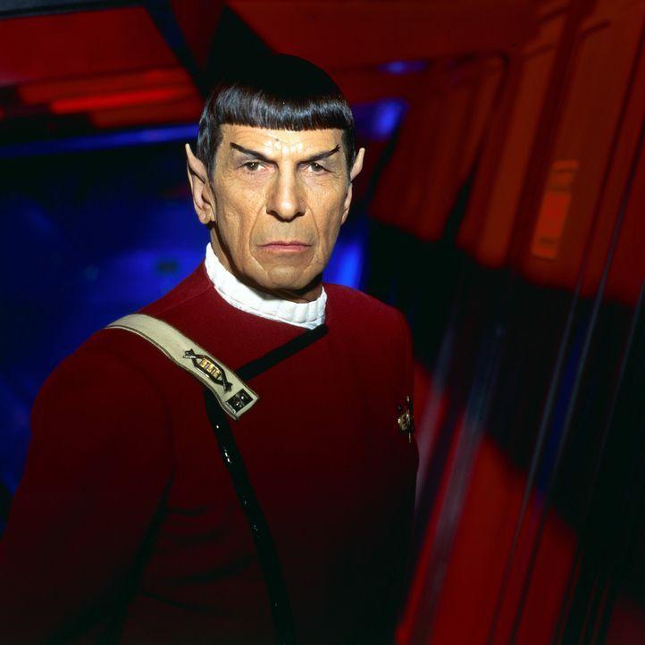Der Vulkanier Mr. Spock (Leonard Nimoy) will die Unschuld seines Kommandanten beweisen ... - Bildquelle: Paramount Pictures