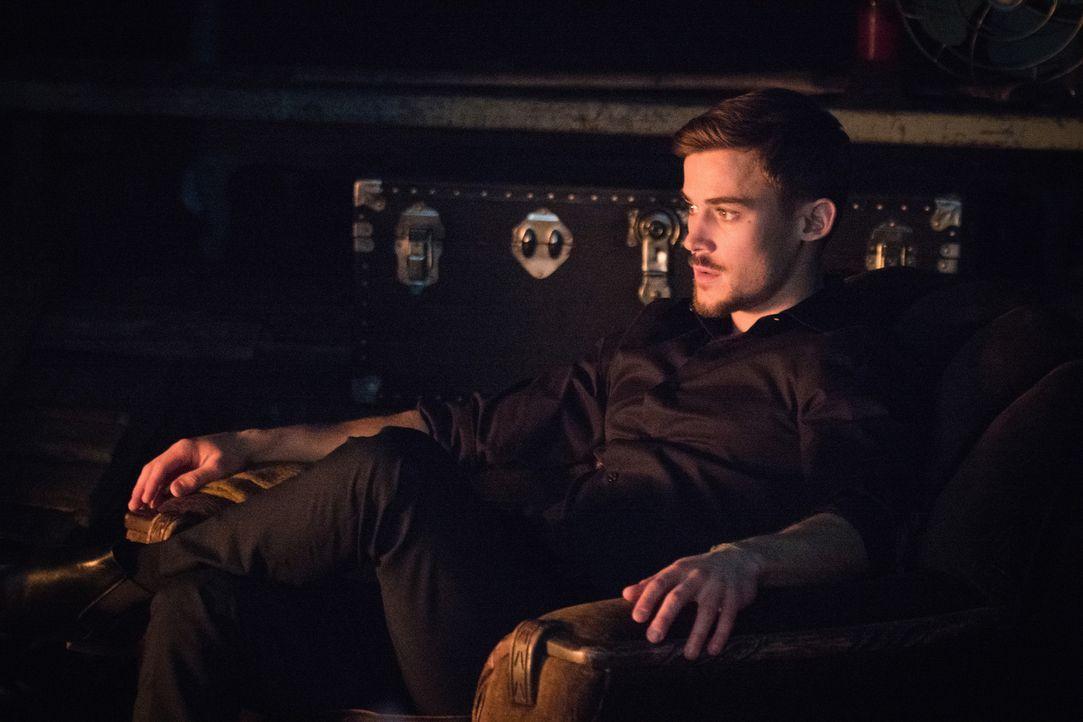 Logan (Josh Salatin) möchte Abigal um jeden Preis festnehmen, um den Tod seines Ausbilder zu rächen ... - Bildquelle: Shane Harvey 2017 CBS Broadcasting, Inc. All Rights Reserved