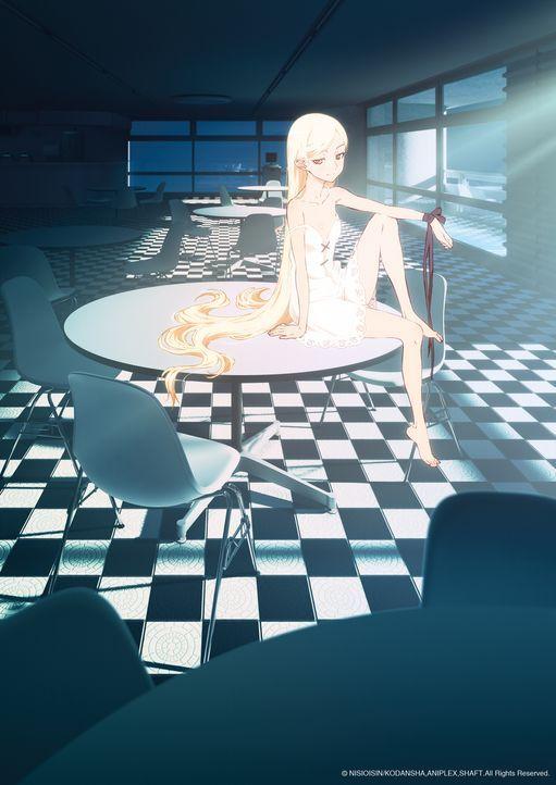 Kizumonogatari: Heißes Blut - Artwork - Bildquelle: NISIOISIN/KODANSHA, ANIPLEX, SHAFT