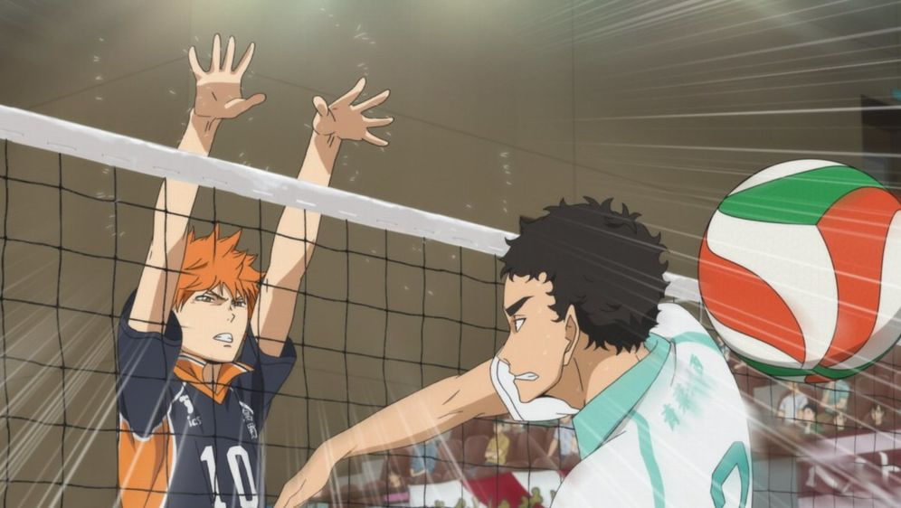 "Haikyu!! - Gewinner und Verlierer - Bildquelle: H. Furudate / Shueisha, ""HAIKYU!!"" Project, MBS  All Rights Reserved."