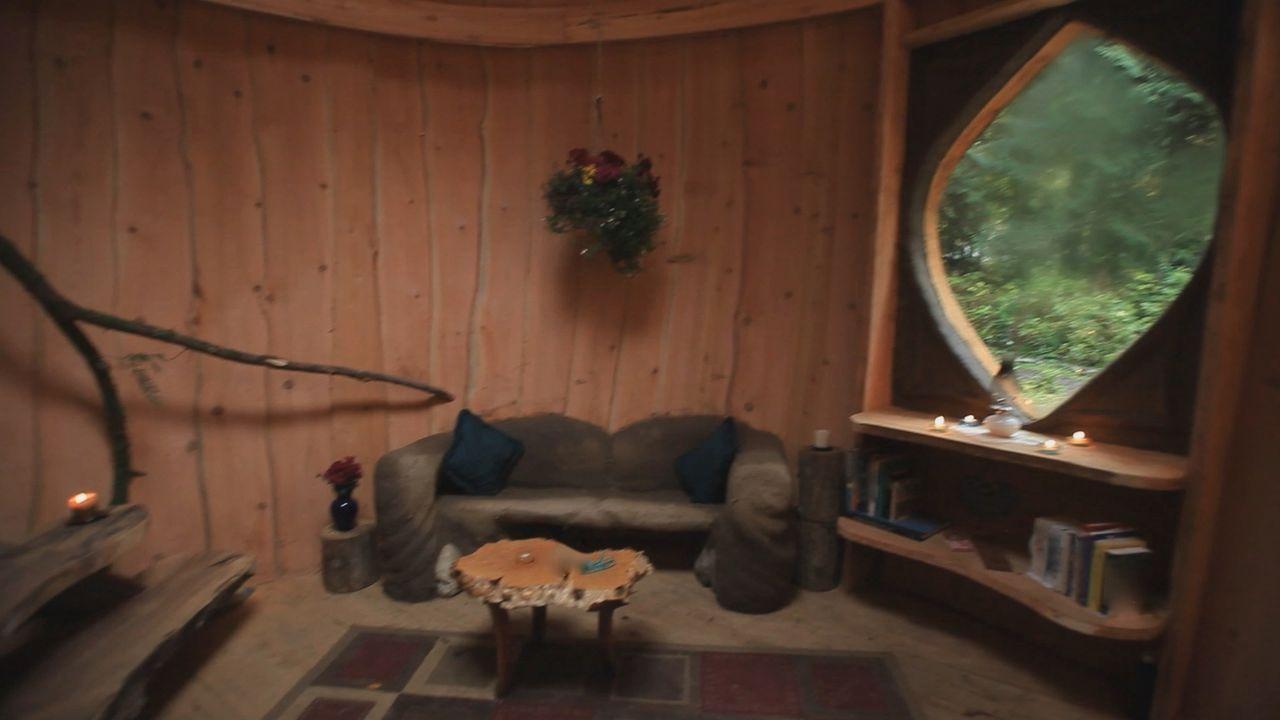 Das etwas andere Haus mit runden Zimmern ... - Bildquelle: 2015,DIY Network/Scripps Networks, LLC. All Rights Reserved
