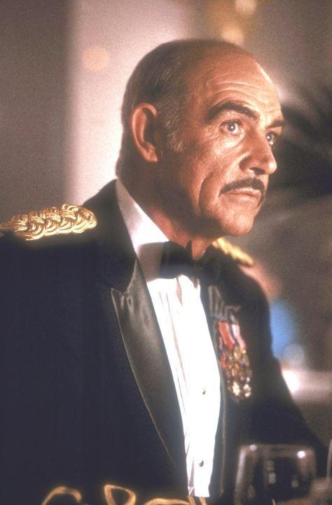 Leutnant Colonel Alan Caldwell (Sean Connery) umgibt ein düsteres Geheimnis: Caldwell war am Selbstmord seiner Frau nicht ganz unschuldig ... - Bildquelle: Paramount Pictures