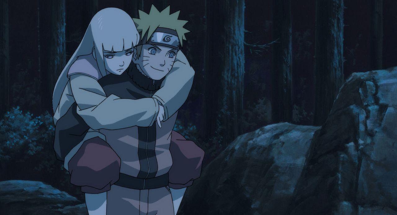 Als ein mächtiger Dämon ins Reich der Lebenden zurückkommt, beschließt Naruto (r.), die Schamanin Shion (l.) zu beschützen, denn sie ist die einzige... - Bildquelle: 2002 MASASHI KISHIMOTO /2007 Shippuden   NMP 2007