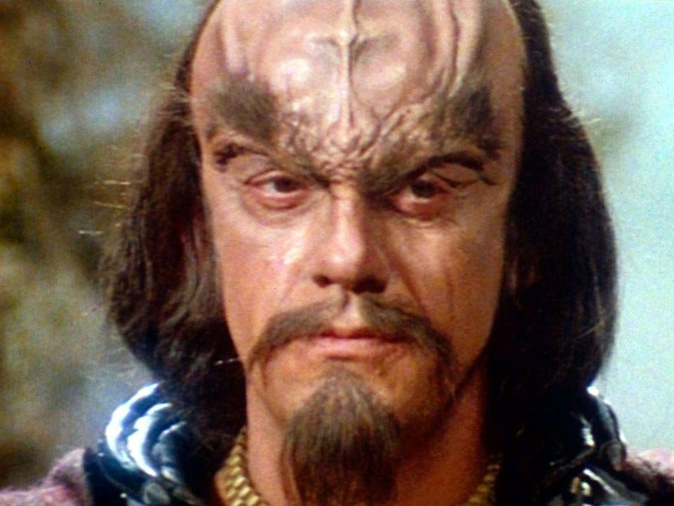 """Klingonen-Kommandant Kruge (Christopher Lloyd) will das todbringende """"Genesis""""-Torpedo an sich bringen. - Bildquelle: Paramount Pictures"""
