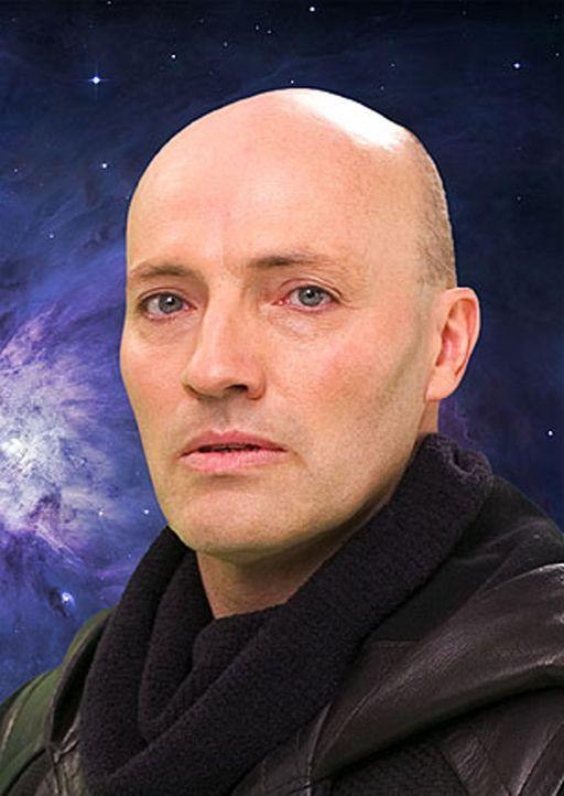 Werden Galen (Peter Woodward) und das Team der Babylon 5 das dämonische Monster besiegen können? - Bildquelle: Warner Bros.