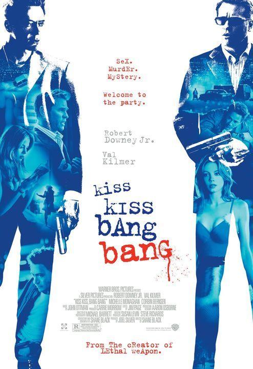KISS KISS BANG BANG - Plakat - Bildquelle: 2015   Warner Brothers