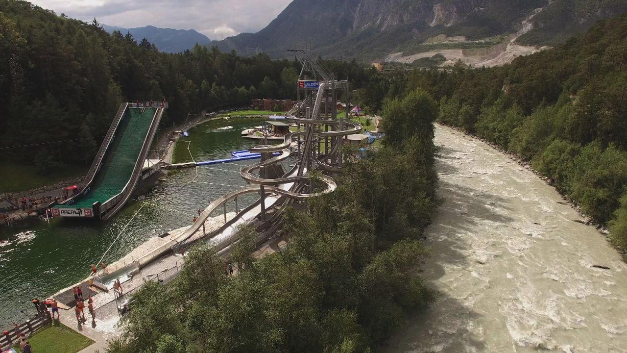 Spielplatz für Erwachsene: Area 47, der größte Outdoor-Freizeitpark Österreichs, bietet alles, was sich ein Outdoor-Fan wünschen kann ... - Bildquelle: 2016, The Travel Channel, L.L.C. All Rights Reserved.