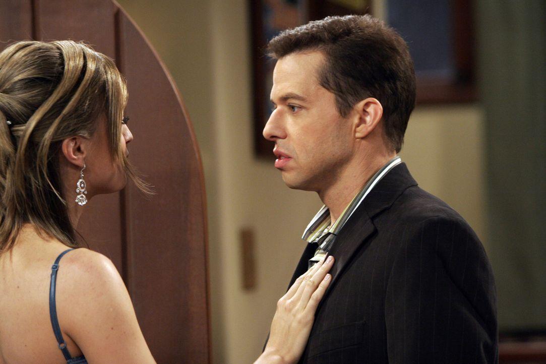 Haben Alan (Jon Cryer, r.) und Camille (Nicole Forester, l.) eine Chance? - Bildquelle: Warner Brothers Entertainment Inc.