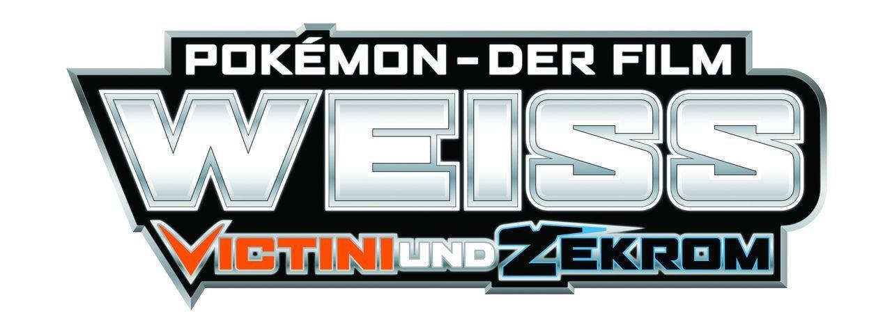 Pokémon - Der Film: Weiß - Victini und Zekrom - Logo - Bildquelle: 2014 Pokémon.   1997-2014 Nintendo, Creatures, GAME FREAK, TV Tokyo, ShoPro, JR Kikaku. TM, ® Nintendo.