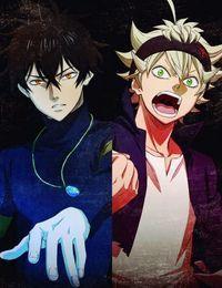 Asta und Yuno (Black Clover)