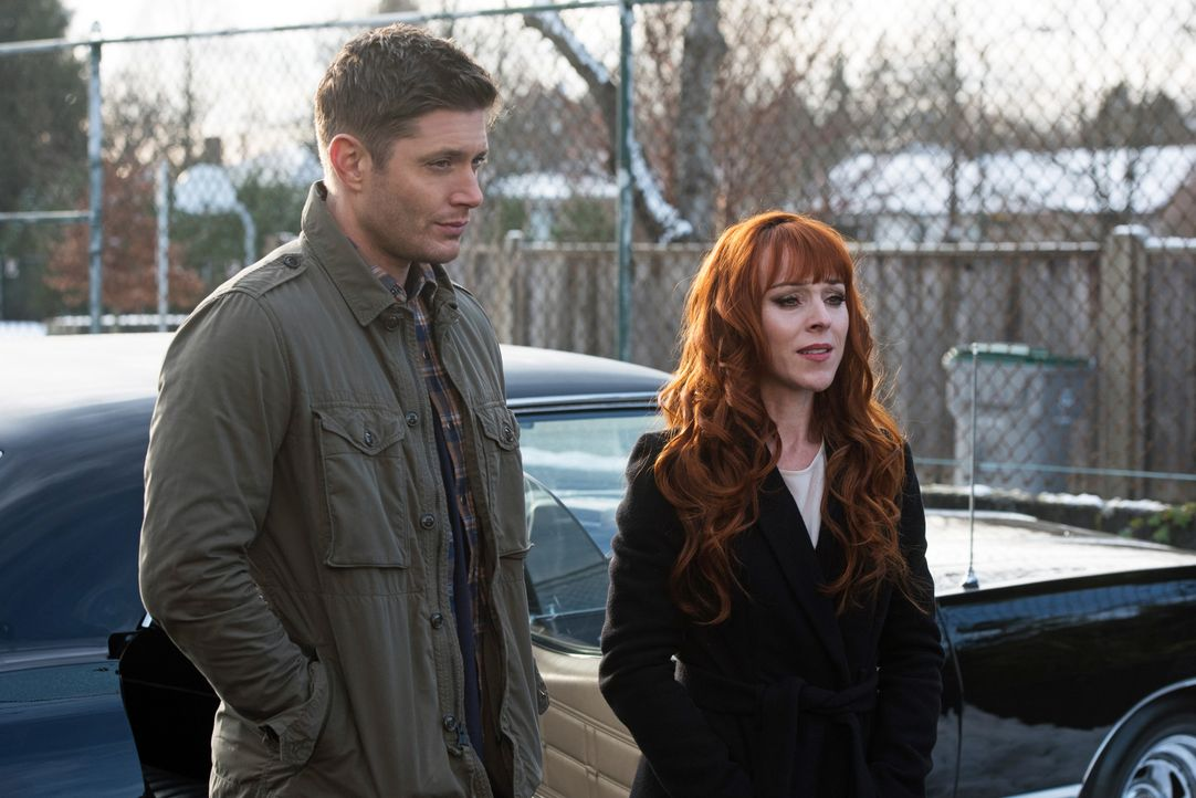 Dean (Jensen Ackles, l.); Rowena (Ruth Connell, r.) - Bildquelle: Dean Buscher 2016 The CW Network, LLC. All Rights Reserved / Dean Buscher