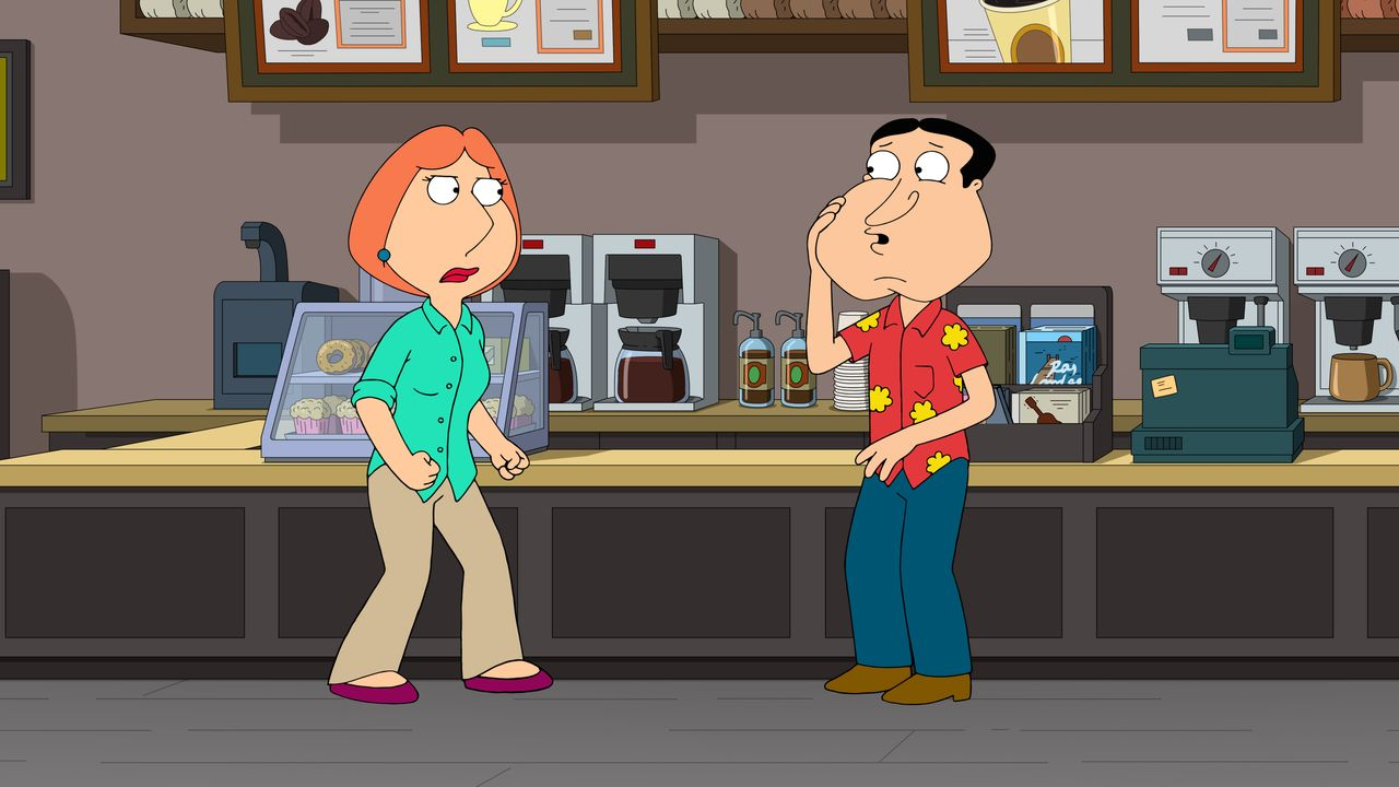 Lois Griffin (l.), Glenn Quagmire (r.) - Bildquelle: 2018-2019 Fox and its related entities. All rights reserved.