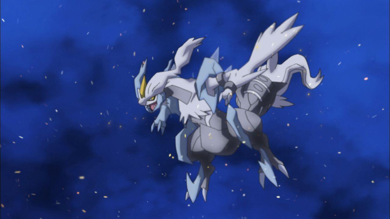 Kyurem kämpft immer bis zum bitteren Ende ... - Bildquelle: 2014 Pokémon.   1997-2014 Nintendo, Creatures, GAME FREAK, TV Tokyo, ShoPro, JR Kikaku. TM, ® Nintendo.