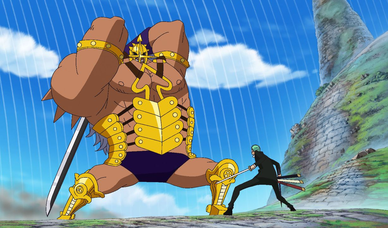 Pica (l.); Zorro (r.) - Bildquelle: Eiichiro Oda/Shueisha, Toei Animation