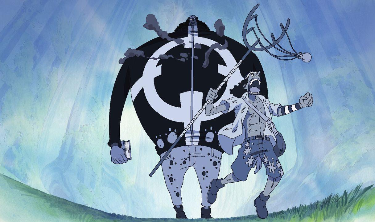 Die Strohhut-Piraten versuchen alles und wehren sich verzweifelt, aber gegen... - Bildquelle: Eiichiro Oda/Shueisha, Toei Animation