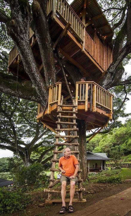"""James """"B'fer"""" Roth (Foto) und seine Treehouse Guys denken groß. Denn für sie ist kein Baum zu hoch und kein Projekt zu kompliziert ... - Bildquelle: 2014, DIY Network/Scripps Networks, LLC. All RIghts Reserved."""